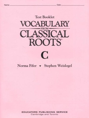 Vocabulary From Classical Roots Book C   -