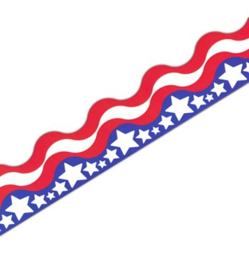 Patriotic Border Trim   -
