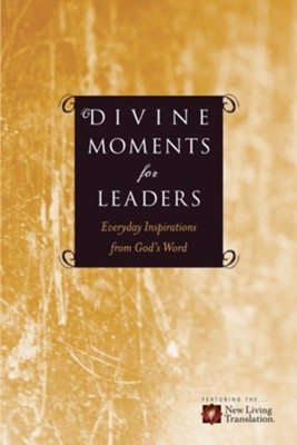 Divine Moments for Leaders: Everyday Inspiration from God's Word - eBook  -     By: Ronald A. Beers, Amy E. Mason