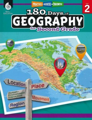 180 Days of Geography for Second Grade   -