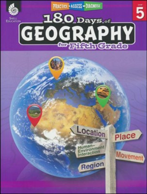 180 Days of Geography for Fifth Grade   -