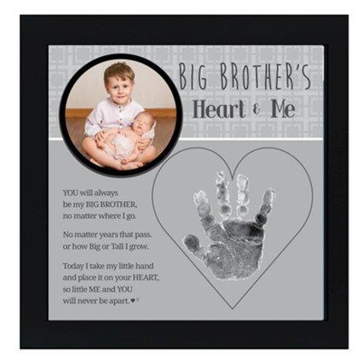 Big Brother's Heart & Me Photo Frame  -