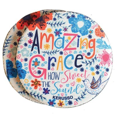 Amazing Grace Car Coasters, Pack of 2  -