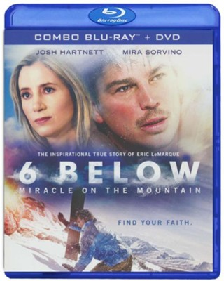 6 Below: Miracle on the Mountain, Blu-ray/DVD Combo Pack  -