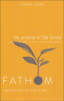 Fathom Bible Studies: A Deep Dive into the Story of God - The Promise of the Future, Leader Guide  -     By: Katie Heierman