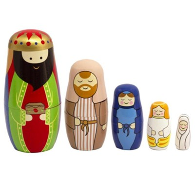Nativity Nesting Dolls  -