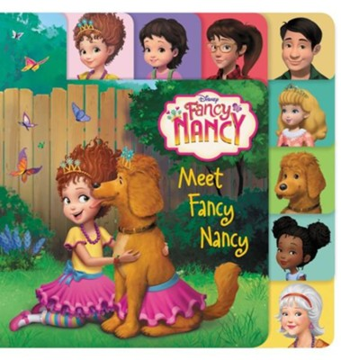 Fancy Nancy: Meet Fancy Nancy TV Tie-In Boardbook  -