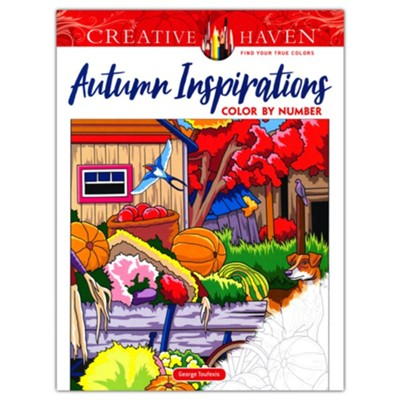 Autumn Inspirations Color by Number  -     By: George Toufexis