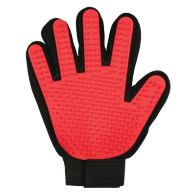 Bless My Paws Grooming Glove, Red  -