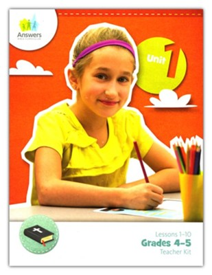 Answers Bible Curriculum Grades 4-5 Unit 1 Teacher Kit (2nd Edition)  -