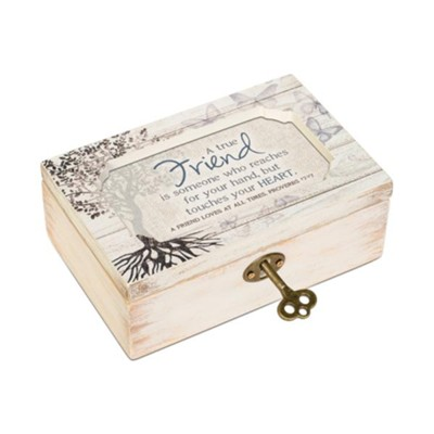 A True Friend Petite Music Box  -