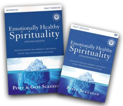 Emotionally Healthy Spirituality Course Pack, DVD & Workbook  -     By: Peter Scazzero, Geri Scazzero