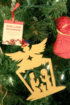 Nativity Angel Ornament  -