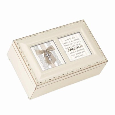 Blessings on Your Baptism, Petite Music Box  -