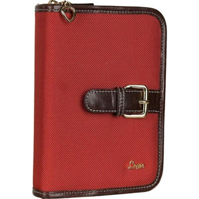 Love Compact Bible Cover, Red  -