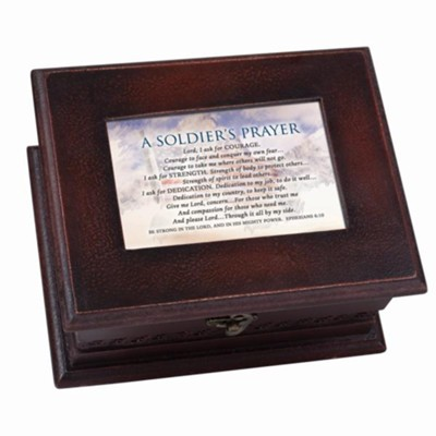A Soldiers Prayer, Petite Music Box  -