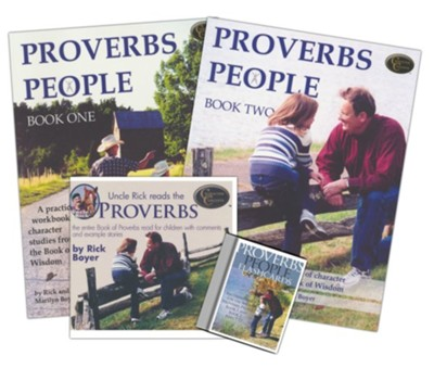 Character Concepts Curriculum: Proverbs People, Level 4 (Ages 7-12)  -     By: Rick Boyer, Marilyn Boyer