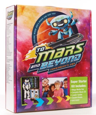 To Mars and Beyond Super Starter Kit - Cokesbury VBS 2019  -