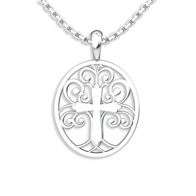 Tree of Life, Pendant, Sterling Silver  -