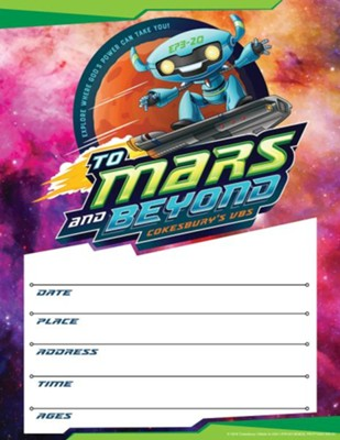 To Mars and Beyond: Small Promotional Posters (Pkg. of 2)  -