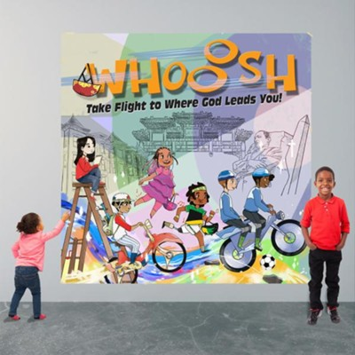 Whooosh: Decorating Mural  -