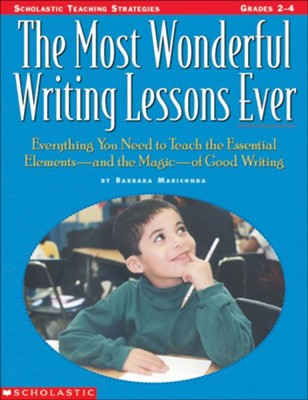 Most Wonderful Writing Lessons Ever  -