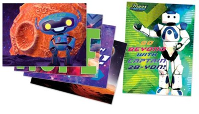 To Mars and Beyond: Decorating Poster Pak  -