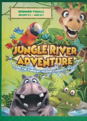 Jungle River Adventure: Beginner Visuals  -