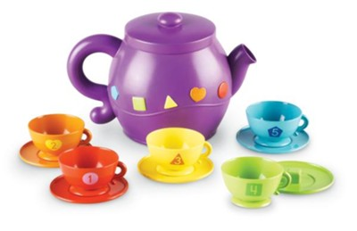 Serving Shapes Tea Set  -