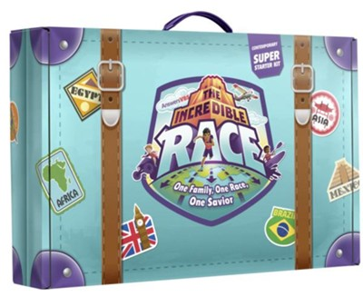 The Incredible Race Contemporary Super Starter Kit - Answers in Genesis VBS 2019  -