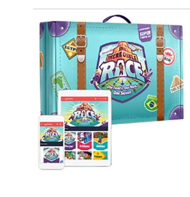 The Incredible Race Contemporary Super Starter Kit + Digital - Answers in Genesis VBS 2019  -