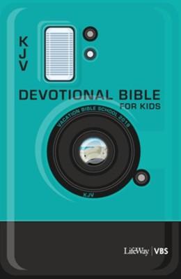 In The Wild: KJV Devotional Bible for Kids