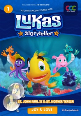 Lukas Storyteller, Episodes 1 & 2 DVD  -