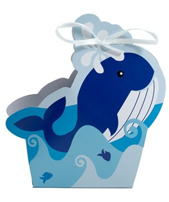 Big Fish Bay: Whale Treat Boxes (pkg. of 12)  -     By: Big Fish Bay