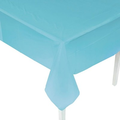 Big Fish Bay: Light Blue Tablecloth  -     By: Big Fish Bay