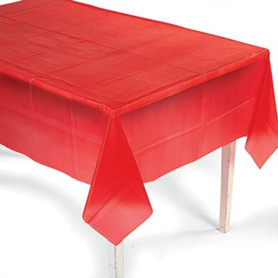 Red Tablecloth   -     By: Big Fish Bay
