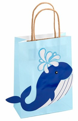 Big Fish Bay: Blue Whale Bags (pkg. of 12)  -     By: Big Fish Bay