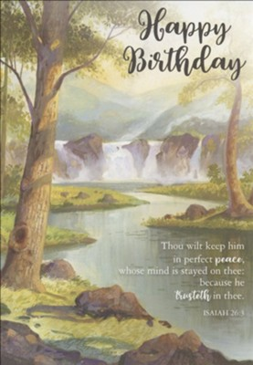 Birthday, A Year Of Grace, Boxed cards (KJV)  -