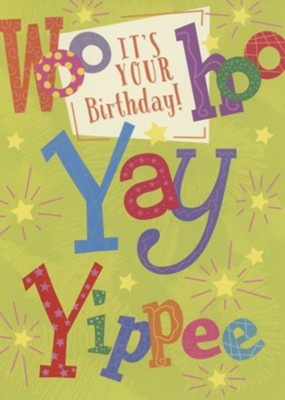 It's Your Birthday! Kids' Birthday, Boxed cards (KJV)  -