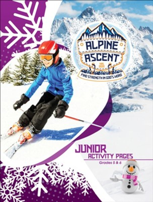 Alpine Ascent: Junior Grades 5 & 6 Activity Pages  -