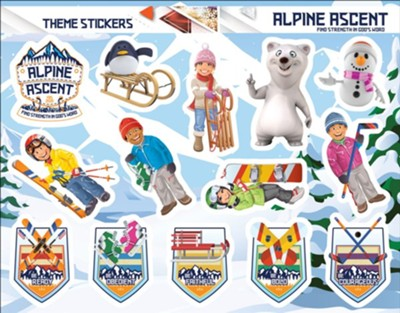Alpine Ascent: Theme Stickers (pkg. of 10 sheets)  -