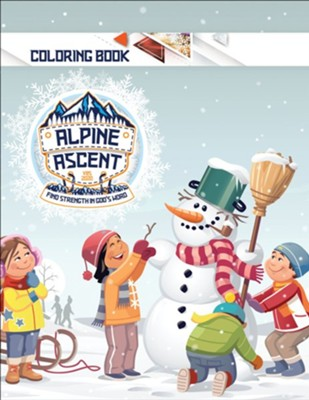 Alpine Ascent: Coloring Book  -