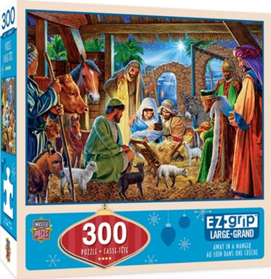 Away in a Manger EZ-Grip Puzzle, 300 Piece  -
