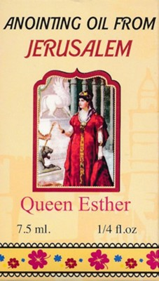Anointing Oil from Jerusalem: Queen Esther, 0.25 oz.  -