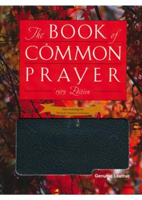 1979 Book of Common Prayer Personal Edition black Genuine Leather  -