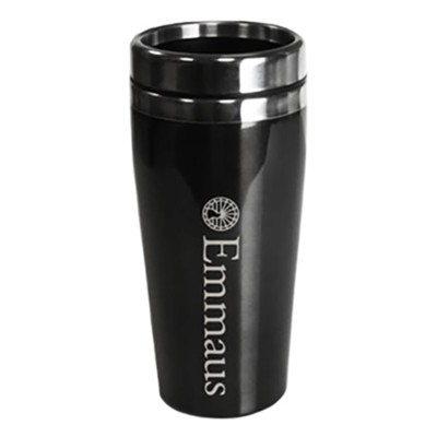 Emmaus, Travel Mug, Black   -