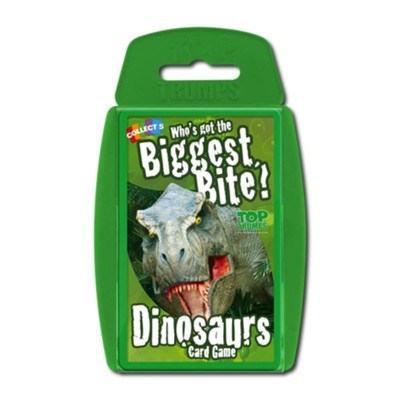Top Trumps Card Game: Who's Got the Biggest Bite? Dinosaurs  -