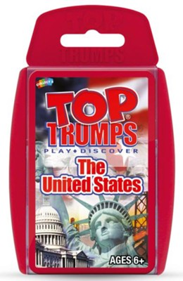 Top Trumps Card Game: The United States   -
