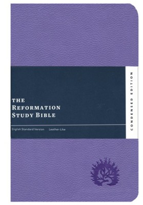 ESV Reformation Study Bible, Condensed Edition, Lavender, Leather-like  -     Edited By: R.C. Sproul