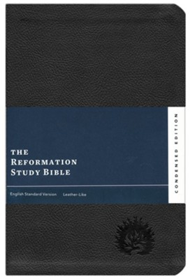 ESV Reformation Study Bible, Condensed Edition - Black, Leather-Like, Imitation Leather  -     Edited By: R.C. Sproul